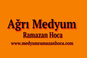Ağrı Medyum Ramazan Hoca